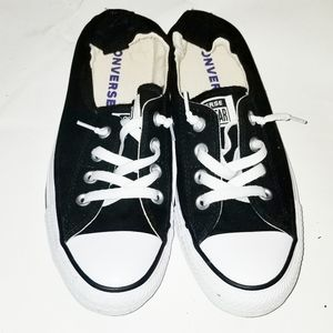 CONVERSE black white chuck taylor low tops